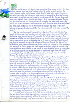 Manuscript page from Witchlight by Joanne Harris